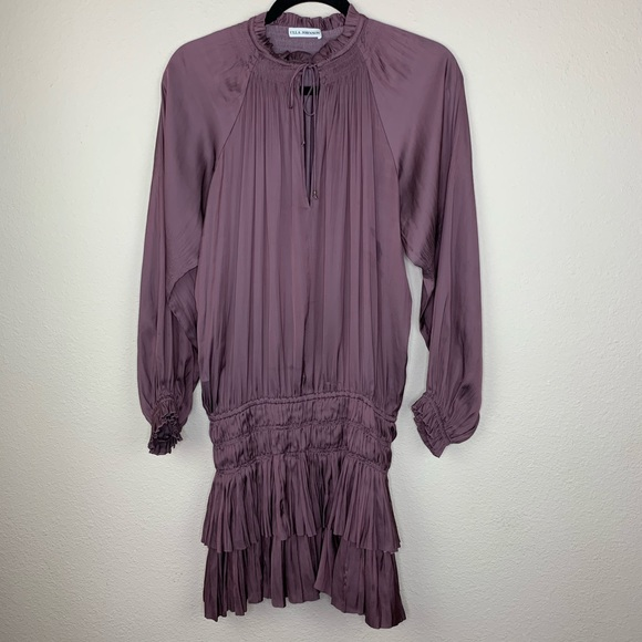 Ulla Johnson Olga Smocked Waist Dress